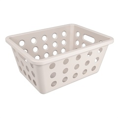 Cesta Organizadora One Pequena 18,6x14,2cm Light Gray - Coza