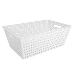 Cestão Branco 38,8x59,9cm  - Coza