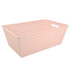 Cestão Organizador One 59,5x38,8cm Rosa Blush - Coza