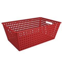Cestão Organizador One 59,5x38,8cm Vermelho Bold - Coza