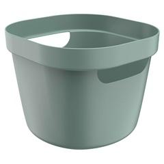 Cesto Cube Flex 16x20cm Verde Eucalipto Fechado - Ou