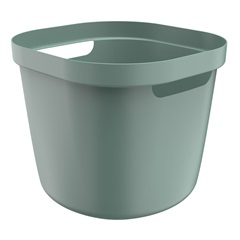 Cesto Cube Flex 31,5x38cm Verde Eucalipto Fechado - Ou