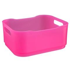 Cesto Fit Pequeno Rosa 1,5 Litros  - Coza