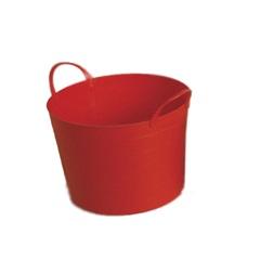 Cesto Flex 17 Litros Plastico Vermelho  - Importado