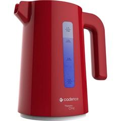 Chaleira Elétrica Thermo One Colors 1200w 110v 1,7 Litro Vermelha - Cadence