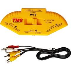 Chaveador de Áudio E Vídeo  Switcher - TMS