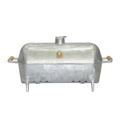 Churrasqueira a Bafo em Alumínio 30x27x23cm - Santa Edwirges
