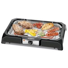 Churrasqueira Elétrica Grand Steak E Grill 2000w 110v Preta - Mondial