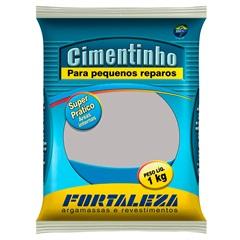 Cimentinho Cinza 1kg - Usina Fortaleza