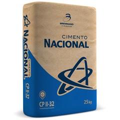 Cimento Cp Ii-32 25kg - Cimento Nacional