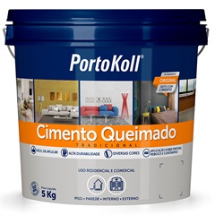 Cimento Queimado Carbono 5kg - Portokoll