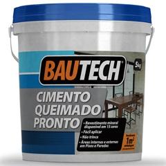 Cimento Queimado Pronto Areia 5kg - Bautech