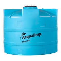 Cisterna em Polietileno 3000 Litros Azul - Acqualimp