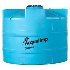 Cisterna Equipada para Rede Pública com Bomba 10.000 Litros 110v Azul - Acqualimp