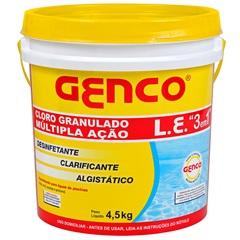 Cloro 3 em 1 Multiação 4,5kg - Genco