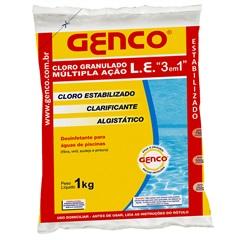 Cloro 3 em 1 Múltipla Ação 1kg - Genco