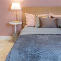 Cobertor de Solteiro Cozy Grid Azul 150x220cm - Casa Etna