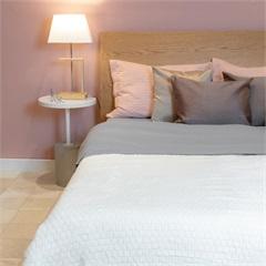 Cobertor de Solteiro Cozy Grid Branco 150x220cm - Casa Etna