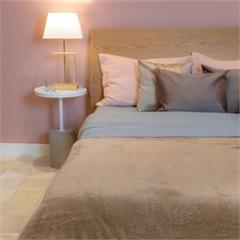 Cobertor de Solteiro Cozy Waves Bege 150x220cm - Casa Etna