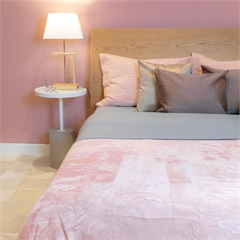 Cobertor de Solteiro Cozy Waves Rosa 150x220cm - Casa Etna