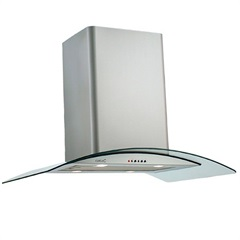 Coifa de Ilha C 900 Glass Dual Voltage  - Cata