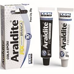 Cola Epóxi Araldite Fix 20g Branca - Tekbond