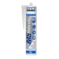 Cola Híbrida Ecológica Ms Hibrído 400g Branca - Tekbond