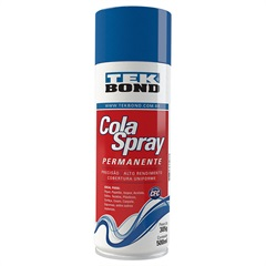 Cola Spray Permanente 500ml Amarelada - Tekbond