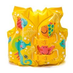 Colete Inflável Peixinhos - Intex