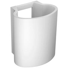 Coluna Suspensa para Lavatório 38x18cm Branca - Deca