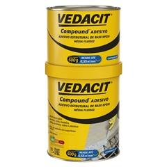 Compound Adesivo Lata 1 Kilo - Vedacit