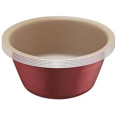 Conjunto de Formas para Cupcake em Alumínio com 6 Peças Vermelha - Tramontina