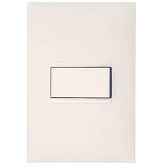 Conjunto de Interruptor Simples com Placa 4x2 Plusmais 10a Branca - Pial Legrand