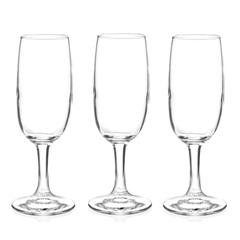 Conjunto de Taças Imperial para Champagne em Vidro 200ml com 3 Peças - Fratelli