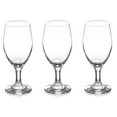 Conjunto de Taças Imperial para Vinho em Vidro 280ml com 3 Peças - Fratelli