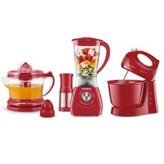 Conjunto Especial Kit Gourmet Red 2 110v Vermelho - Mondial