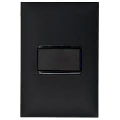 Conjunto Interruptor Simples 10a 4x2 Preta - Pial Legrand