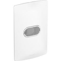 Conjunto Interruptor Simples 10a Nereya 4''X2'' Branco - Pial Legrand