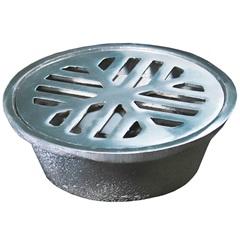 Conjunto Ralo Sifonado Redondo 10,5cm Alumínio Polido - Costa Navarro