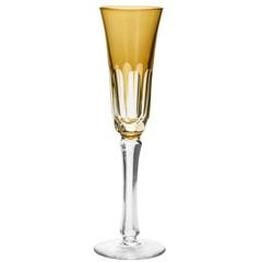 Conjunto Taça de Cristal para Champagne Aurora 120ml Âmbar com 6 Peças - Wolff