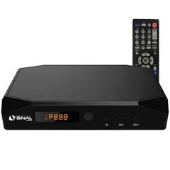 Conversor E Gravador Digital para Tv Aberta Sc-3300 Preto - Sinal Antenas – Brasforma