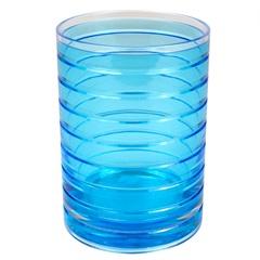 Copo para Banheiro em Acrílico Azul - Casanova