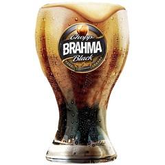 Copo para Cerveja em Vidro Brahma Black 430ml Transparente - Ambev