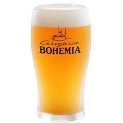 Copo para Cerveja em Vidro Cervejaria Bohemia 340ml Transparente  - Ambev