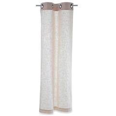 Cortina em Algodão Linen Branca 170x80cm - Casa Etna
