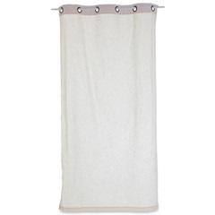 Cortina em Algodão Linen Branca 220x120cm - Casa Etna