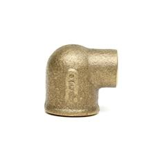 Cotovelo 90° em Latão com Solda Bolsa 15mm X Rosca Fêmea 1/2'' - Ramo Conexões