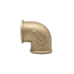 Cotovelo 90° em Latão Rosca Fêmea 1'' - Ramo Conexões