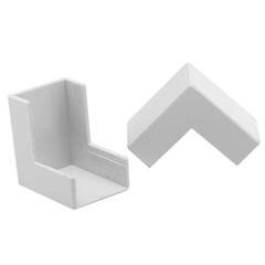 Cotovelo Externo Sistema Brava 2x1cm Branco - Iriel