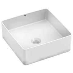 Cuba de Apoio para Banheiro Platinum Branca 38x38cm - Incepa